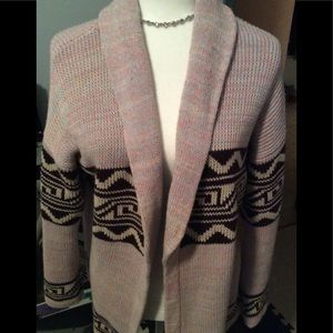 Urban outfitters thick  open cardigan
